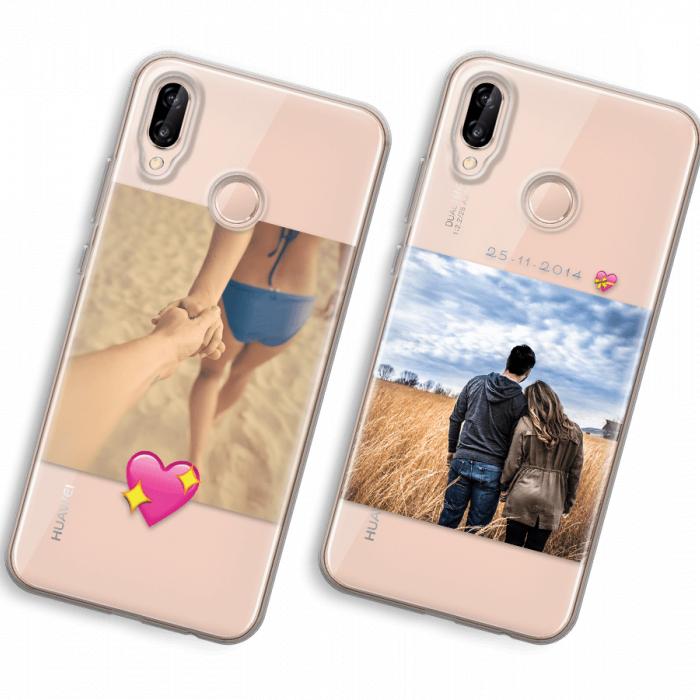 Huawei P20 Lite Cover Trasparente (Cover morbida)