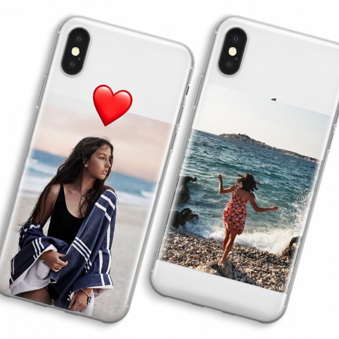 iPhone XS Max Cover Trasparente (Cover rigida)