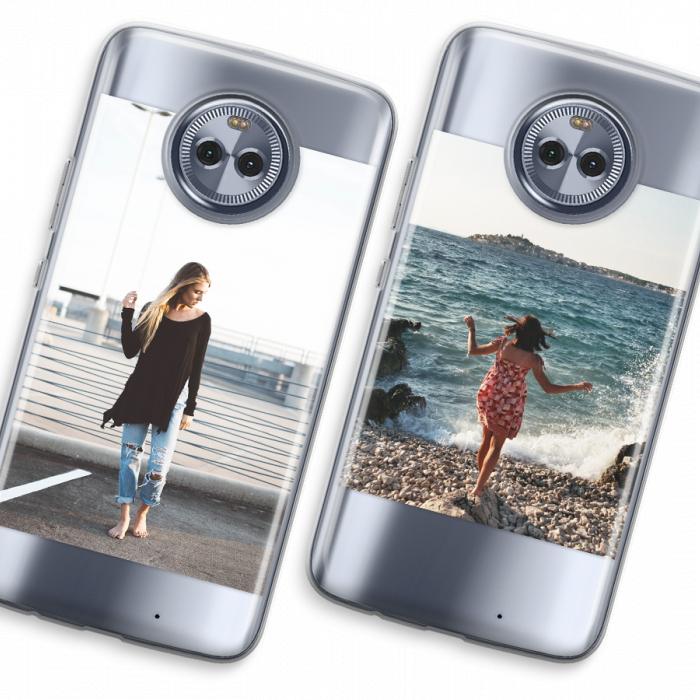 Crea la tua Moto G5 custodia  CaseCompany  Cover trasparente