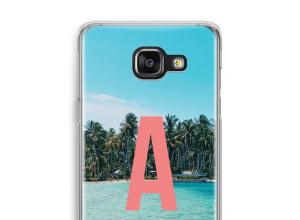 Maak zelf je Samsung Galaxy A5 (2016) hoesje met je monogram