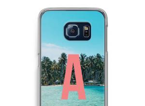 Maak zelf je Galaxy S6 Edge hoesje met je monogram