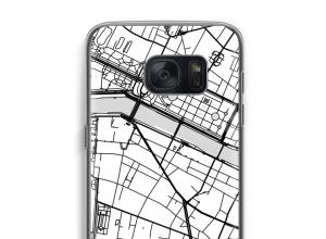 Zet een stadskaart op je  Samsung Galaxy S7 hoesje