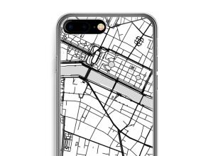 Zet een stadskaart op je  iPhone 7 PLUS hoesje