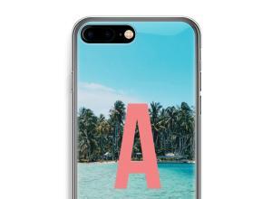Maak zelf je iPhone 7 PLUS hoesje met je monogram