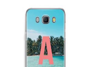 Maak zelf je Galaxy J5 (2016) hoesje met je monogram