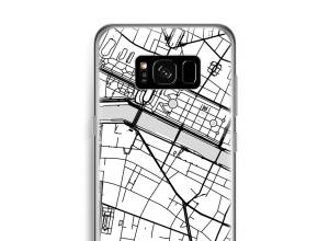 Zet een stadskaart op je  Galaxy S8 hoesje