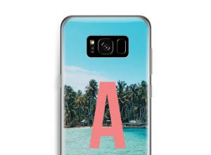 Maak zelf je Galaxy S8 hoesje met je monogram