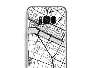 Zet een stadskaart op je  Galaxy S8 Plus hoesje