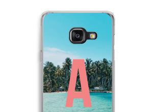 Maak zelf je Galaxy A3 (2017) hoesje met je monogram