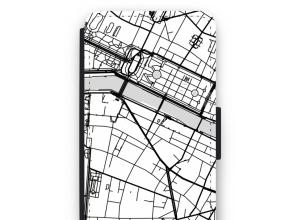 Zet een stadskaart op je  iPhone 5c hoesje