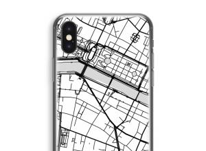 Zet een stadskaart op je  iPhone X hoesje