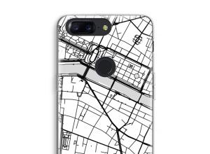 Zet een stadskaart op je  OnePlus 5T hoesje