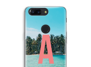 Maak zelf je OnePlus 5T hoesje met je monogram