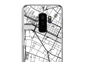Zet een stadskaart op je  Galaxy S9 Plus hoesje