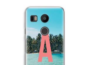 Maak zelf je Nexus 5X hoesje met je monogram