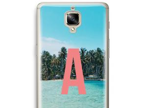 Maak zelf je OnePlus 3 hoesje met je monogram
