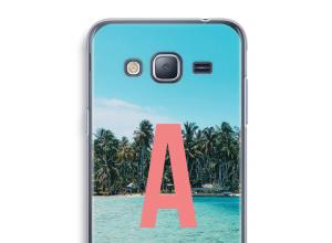 Maak zelf je Galaxy J3 (2016) hoesje met je monogram