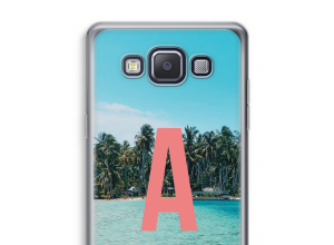 Maak zelf je Galaxy A5 (2015) hoesje met je monogram