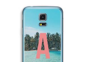 Maak zelf je Galaxy S5 mini hoesje met je monogram