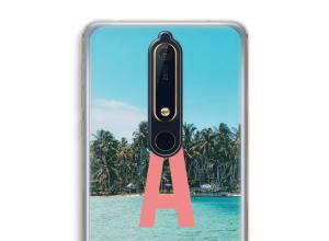 Maak zelf je Nokia 6 (2018) hoesje met je monogram