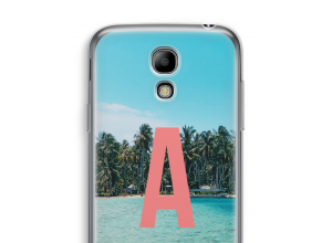 Maak zelf je Galaxy S4 mini hoesje met je monogram