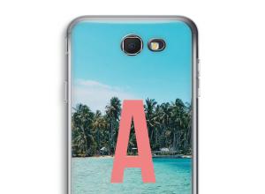Maak zelf je Galaxy J7 Prime (2017) hoesje met je monogram