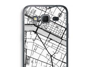 Zet een stadskaart op je  Galaxy Core Prime hoesje