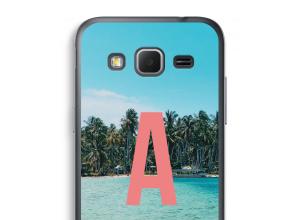 Maak zelf je Galaxy Core Prime hoesje met je monogram