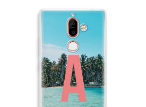 Maak zelf je Nokia 7 Plus hoesje met je monogram