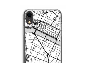 Zet een stadskaart op je  iPhone XR hoesje