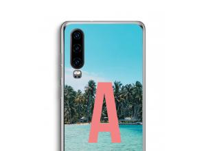 Maak zelf je Huawei P30 hoesje met je monogram