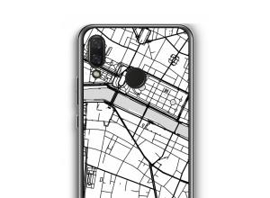 Zet een stadskaart op je  Nova 3 hoesje