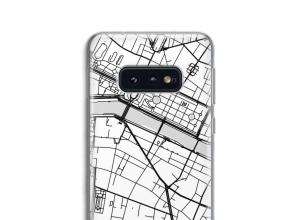 Zet een stadskaart op je  Galaxy S10e hoesje