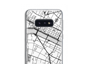 Zet een stadskaart op je  Samsung Galaxy S10e hoesje