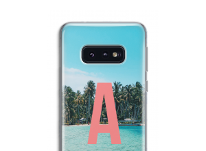 Maak zelf je Samsung Galaxy S10e hoesje met je monogram