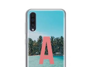 Maak zelf je Galaxy A50 hoesje met je monogram
