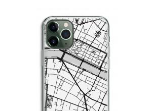 Zet een stadskaart op je  iPhone 11 Pro Max hoesje