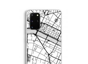 Zet een stadskaart op je  Samsung Galaxy S20 Plus hoesje