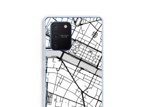 Zet een stadskaart op je  Galaxy Note 10 Lite hoesje