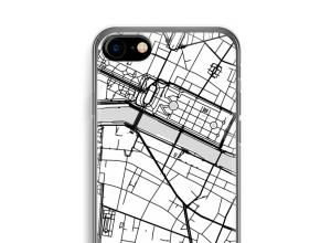 Zet een stadskaart op je  iPhone SE 2020 hoesje