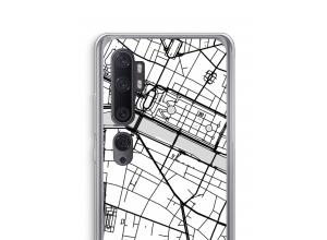 Zet een stadskaart op je  Xiaomi Mi Note 10 hoesje
