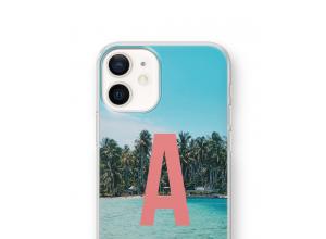 Maak zelf je iPhone 12 mini hoesje met je monogram