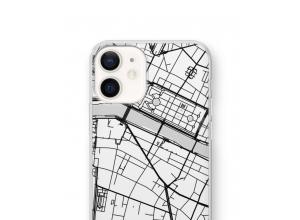 Zet een stadskaart op je  iPhone 12 hoesje