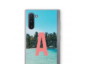 Maak zelf je Galaxy Note 10 hoesje met je monogram