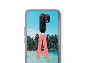 Maak zelf je Xiaomi Redmi 9 hoesje met je monogram