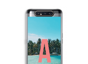 Maak zelf je Galaxy A80 hoesje met je monogram