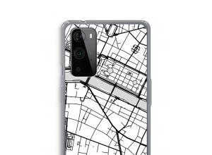Zet een stadskaart op je  OnePlus 9 Pro hoesje