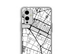 Zet een stadskaart op je  OnePlus 9 hoesje