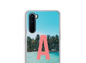 Maak zelf je OnePlus Nord hoesje met je monogram