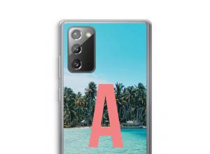 Maak zelf je Galaxy Note 20 / Note 20 5G hoesje met je monogram